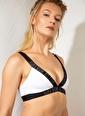Calvin Klein Bikini Üst Beyaz